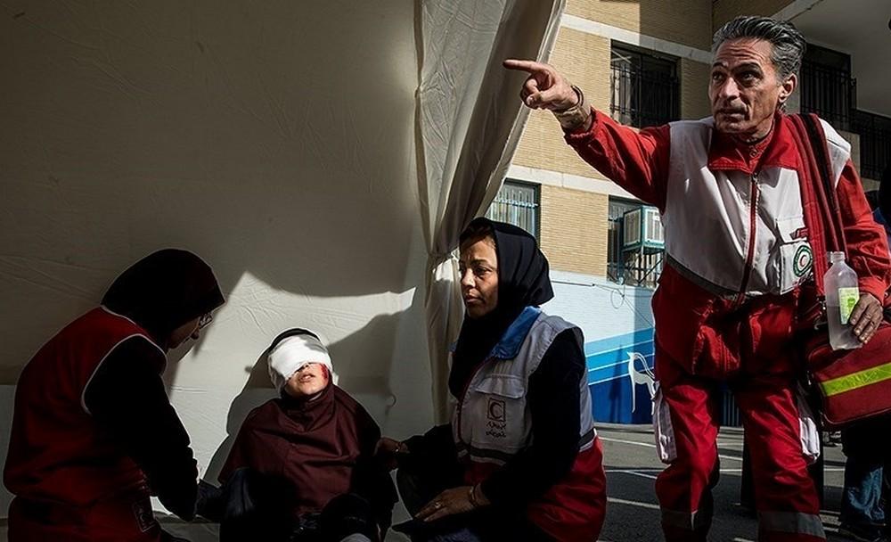 تصاویر : مانور سراسری زلزله