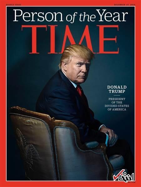 ترامپ مرد سال هفته نامه تایم شد+عکس