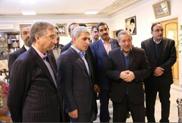 ملاقات مدیرعامل بانک ملی و استاندار اصفهان