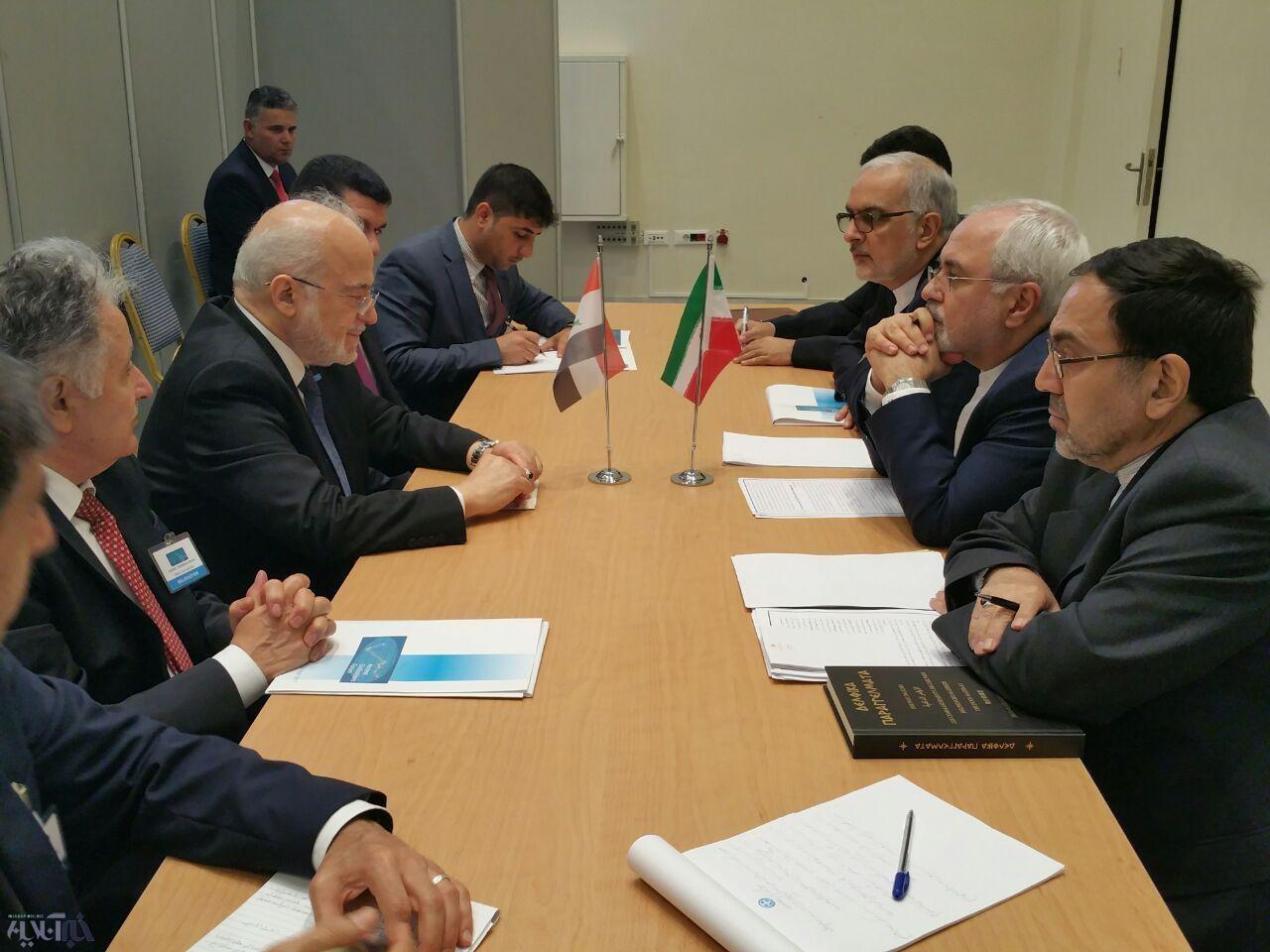 دیدار وزرای خارجه ایران و عراق/عکس