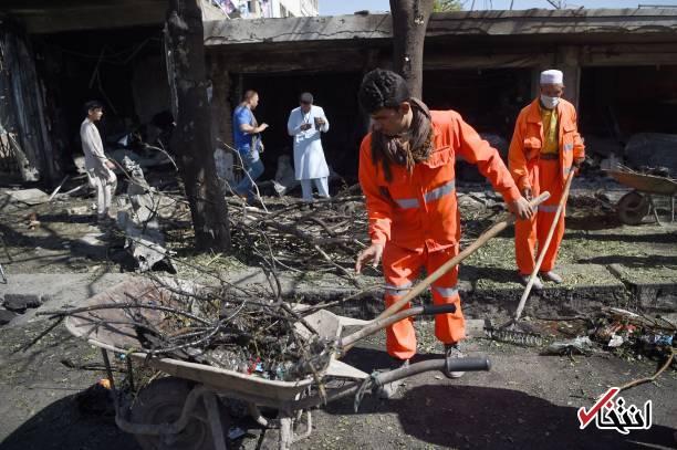تصاویر : انفجار تروریستی در محله شیعه نشین کابل
