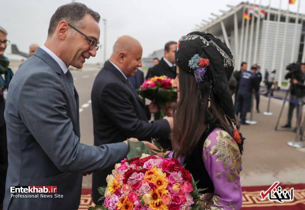 عکس/ گشت و گذار وزیر خارجه آلمان در اربیل