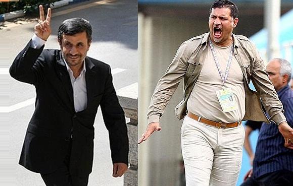 Ahmadinejad - Daei