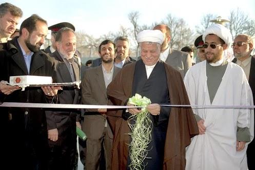 تصویر: روزی که احمدی نژاد، نیروی هاشمی بود