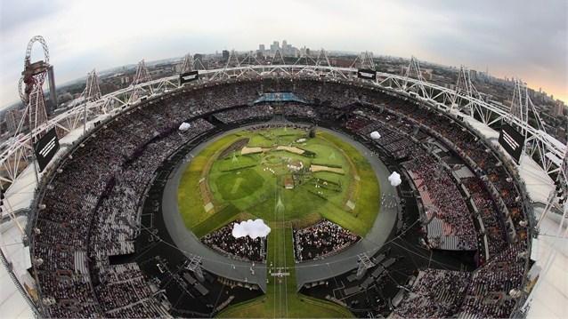 23961 748 تصاویر شگفت انگیز از افتتاحیه المپیک لندن