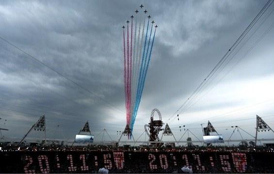 23962 788 تصاویر شگفت انگیز از افتتاحیه المپیک لندن