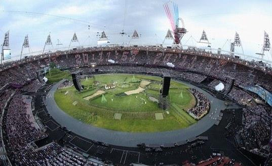 23963 883 تصاویر شگفت انگیز از افتتاحیه المپیک لندن