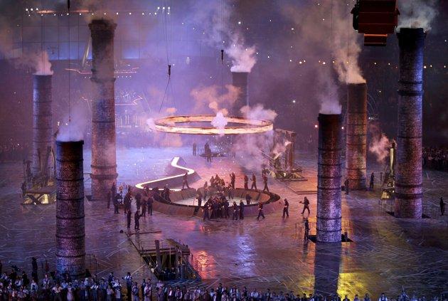 23966 822 تصاویر شگفت انگیز از افتتاحیه المپیک لندن