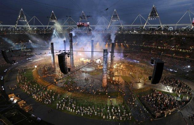 23967 284 تصاویر شگفت انگیز از افتتاحیه المپیک لندن