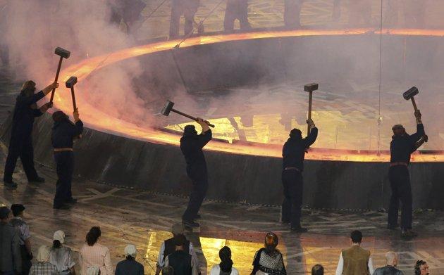 23968 366 تصاویر شگفت انگیز از افتتاحیه المپیک لندن