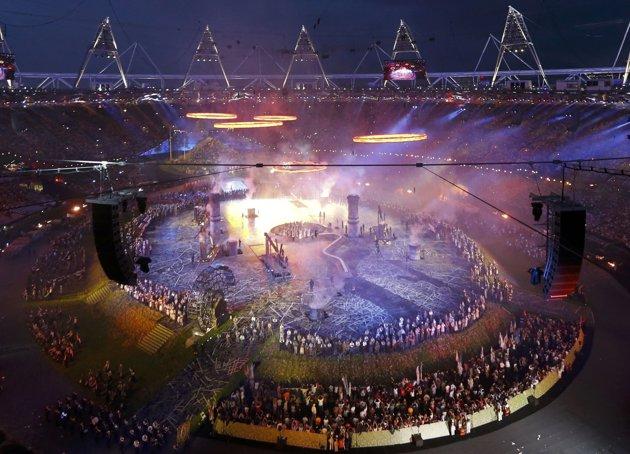 23969 147 تصاویر شگفت انگیز از افتتاحیه المپیک لندن