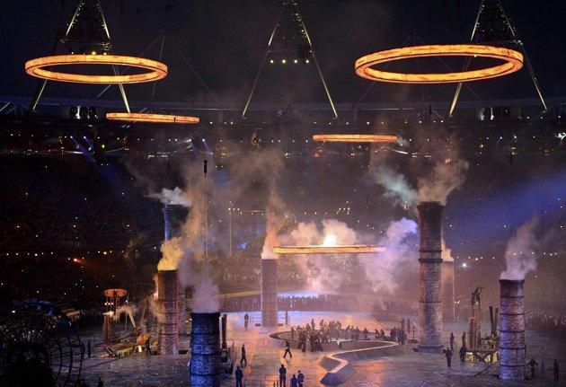 23970 272 تصاویر شگفت انگیز از افتتاحیه المپیک لندن
