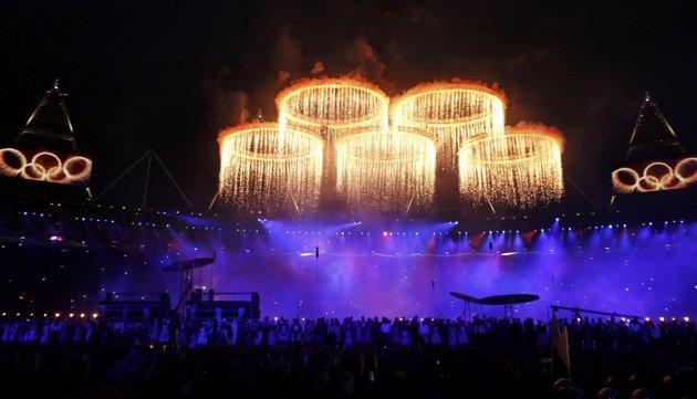 23971 629 تصاویر شگفت انگیز از افتتاحیه المپیک لندن
