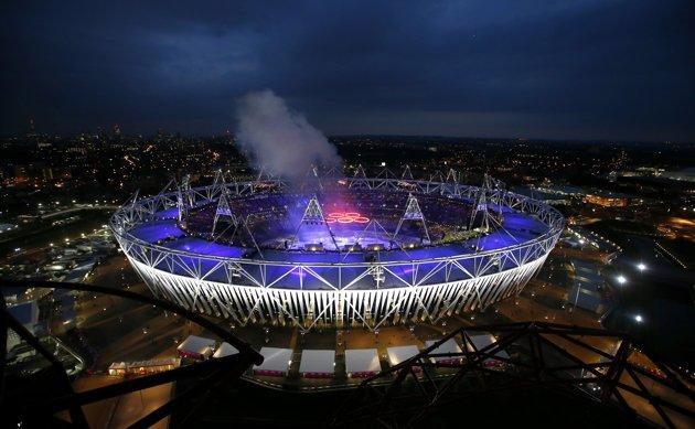23973 416 تصاویر شگفت انگیز از افتتاحیه المپیک لندن