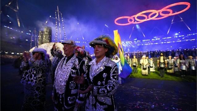 23975 263 تصاویر شگفت انگیز از افتتاحیه المپیک لندن