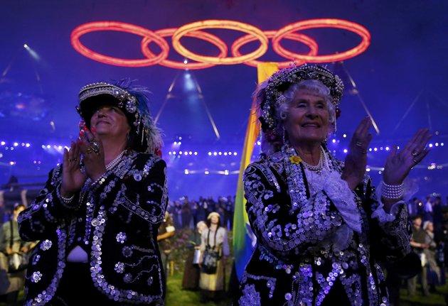 23976 124 تصاویر شگفت انگیز از افتتاحیه المپیک لندن