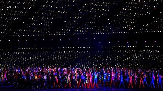 23977 987 تصاویر شگفت انگیز از افتتاحیه المپیک لندن