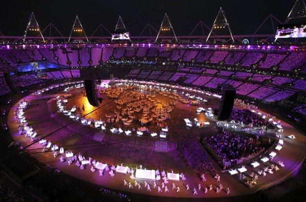 23978 761 تصاویر شگفت انگیز از افتتاحیه المپیک لندن