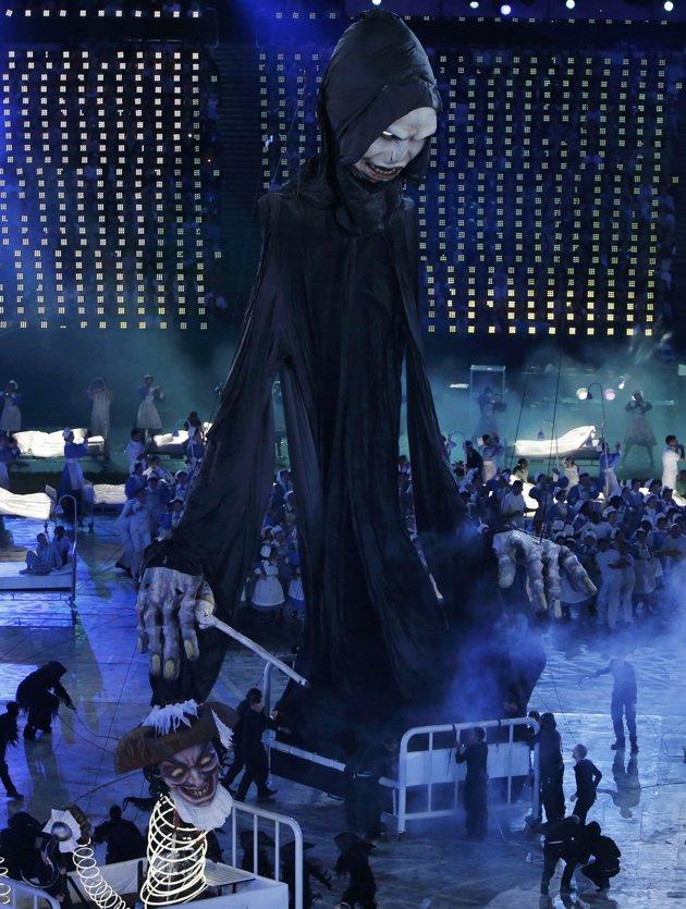 23979 552 تصاویر شگفت انگیز از افتتاحیه المپیک لندن