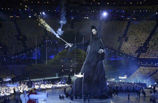23980 778 تصاویر شگفت انگیز از افتتاحیه المپیک لندن