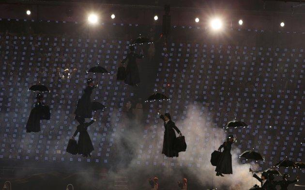 23982 487 تصاویر شگفت انگیز از افتتاحیه المپیک لندن