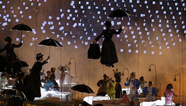 23983 361 تصاویر شگفت انگیز از افتتاحیه المپیک لندن