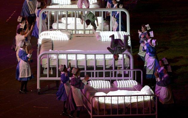 23985 640 تصاویر شگفت انگیز از افتتاحیه المپیک لندن