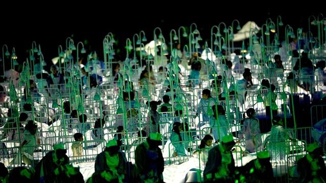 23986 645 تصاویر شگفت انگیز از افتتاحیه المپیک لندن