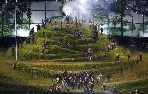 23991 678 تصاویر شگفت انگیز از افتتاحیه المپیک لندن