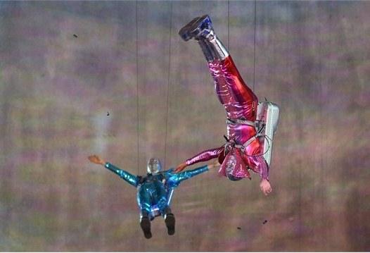 23996 918 تصاویر شگفت انگیز از افتتاحیه المپیک لندن