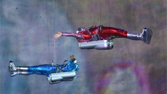 23997 476 تصاویر شگفت انگیز از افتتاحیه المپیک لندن