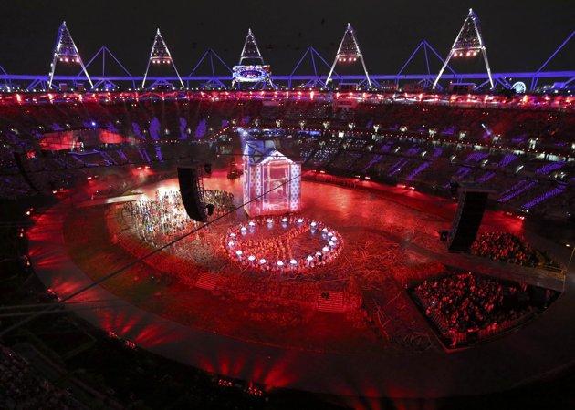 24004 709 تصاویر شگفت انگیز از افتتاحیه المپیک لندن