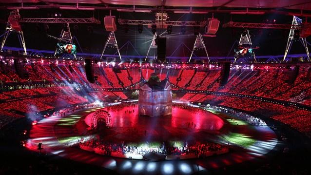 24017 365 تصاویر شگفت انگیز از افتتاحیه المپیک لندن