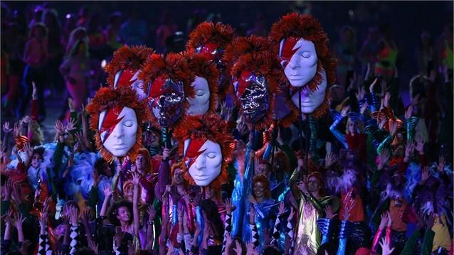 24018 709 تصاویر شگفت انگیز از افتتاحیه المپیک لندن
