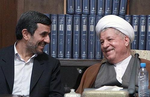 احمدی نژاد و هاشمی