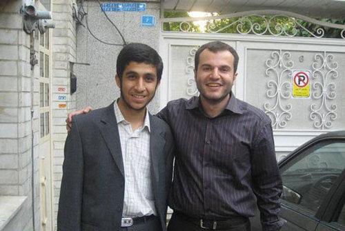 عکس/ پسر احمدی نژاد و پسر مشایی