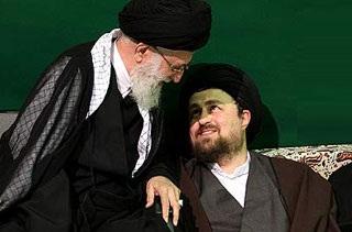 دیدار رهبر و سید حسن خمینی