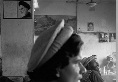 عکس رهبر ایران در قهوهخانهای در هیمالایا