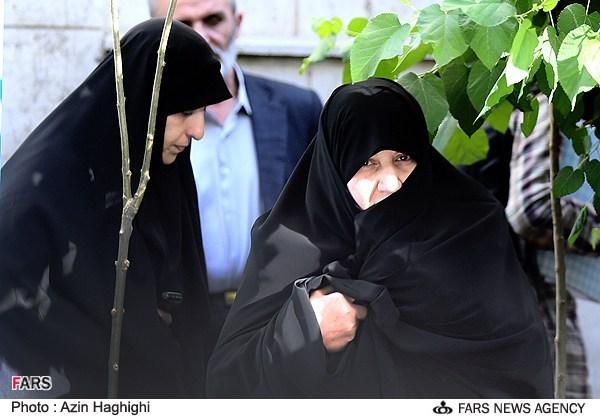 عکس همسر حجت الاسلام حسن روحانی