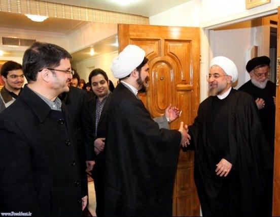 تصویر: دیدار رییسجمهور روحانی با خانواده شهید مفتح