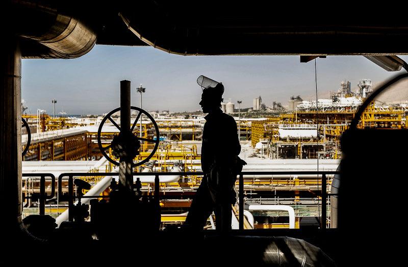 تصاویر: بزرگترین میدان گازی جهان