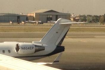 هواپیمای آمریکایی, فرودگاه مهرآباد