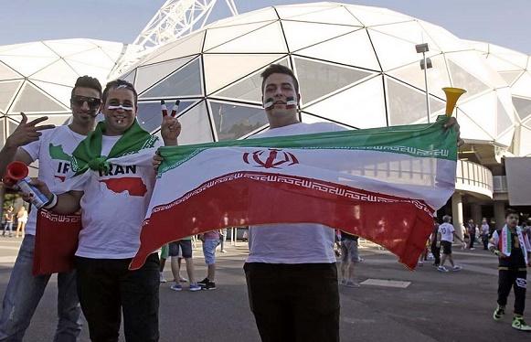استادیوم ملبورن در تسخیر ایرانیها +تصاویر