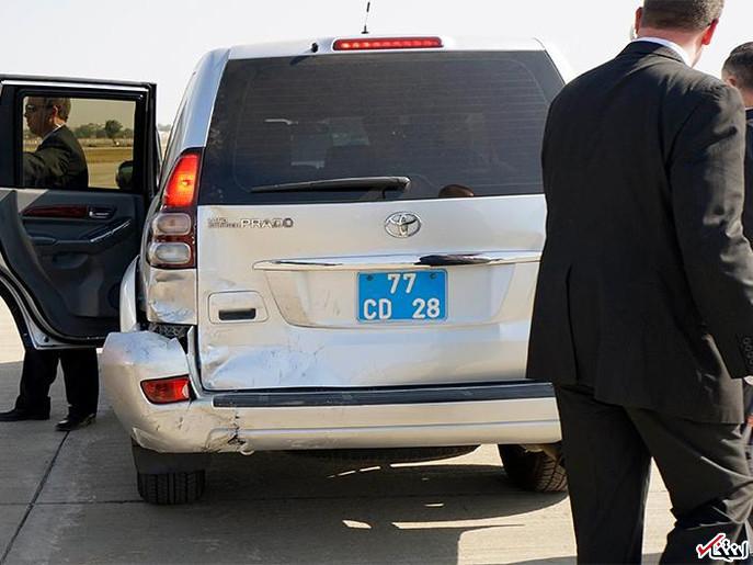 تصویر: تصادف رانندگی وزیر خارجه آمریکا در هند