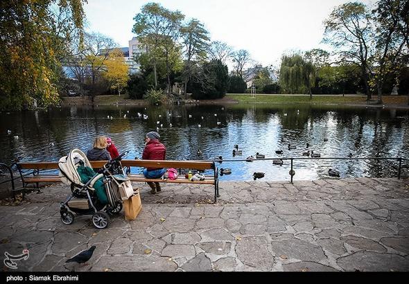 تصاویر :  پارک شهر وین - اتریش