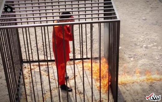 داعش خلبان اردنی را زنده زنده سوزاند