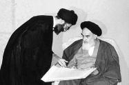 دیدار مقام معظم رهبری با امام