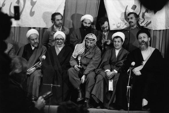 تصاویر : عرفات؛ اولین میهمان خارجی انقلاب