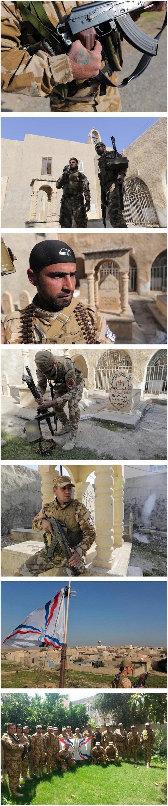 تصاویر : اتباع غربی در جبهه نبرد با داعش