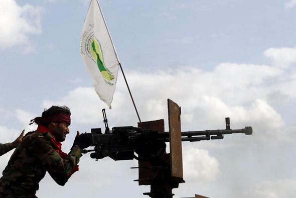 تصاویر : عملیات بزرگ علیه داعش